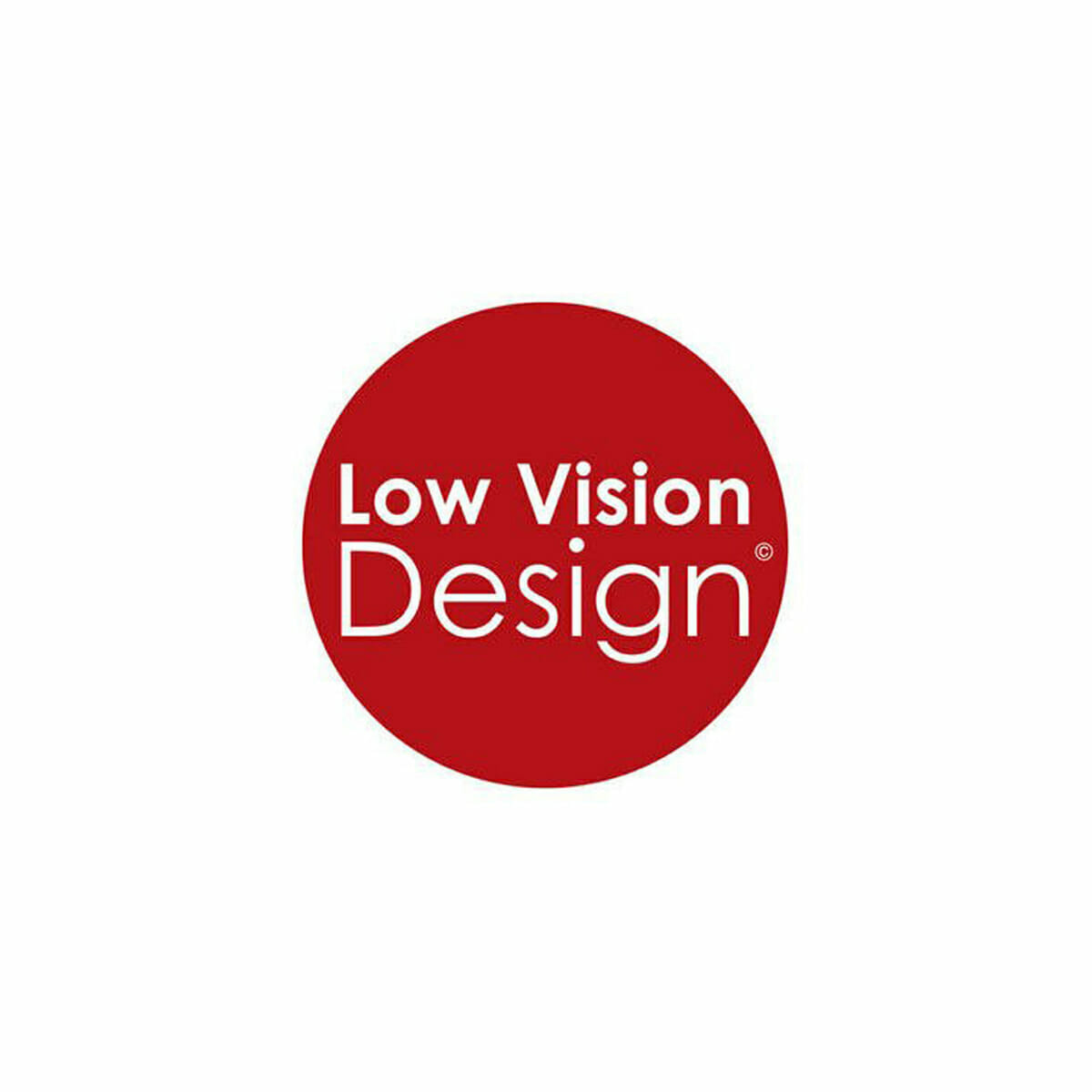 Low vision design logo
