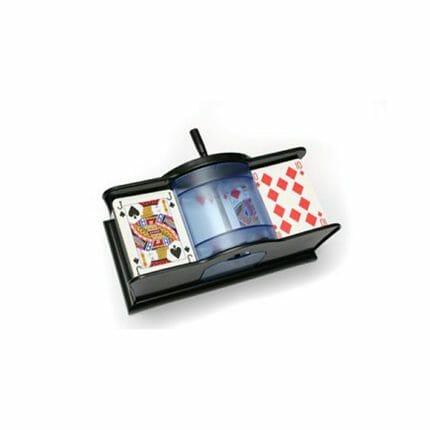 Kaartenschudmachine handmatig