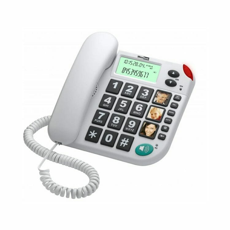 Maxcom KXT 480 huistelefoon wit ST572007