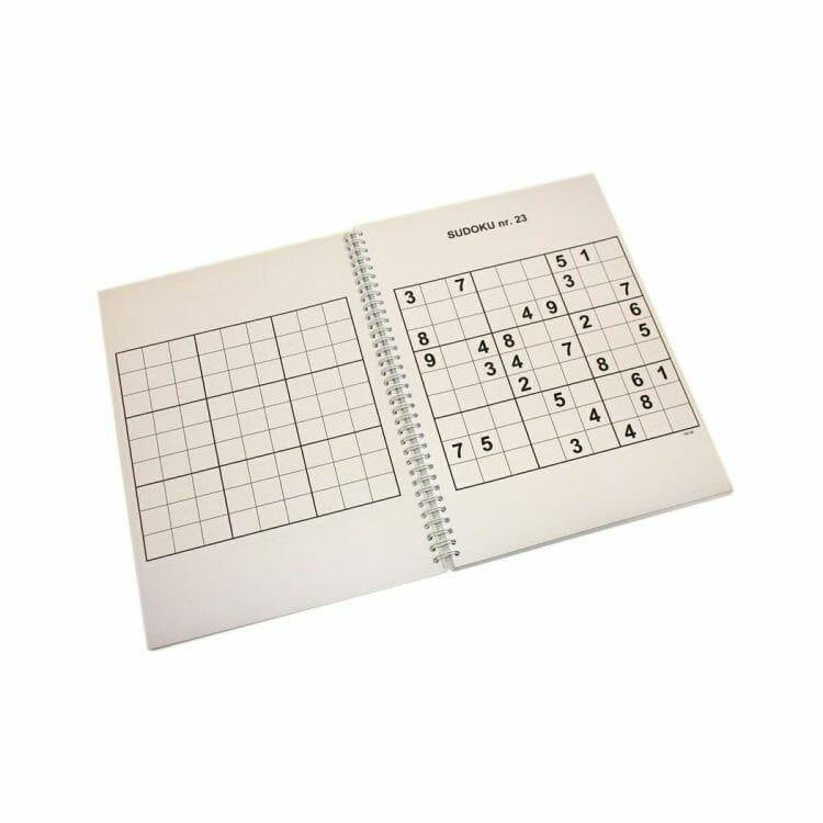 Grootletters Sudoku