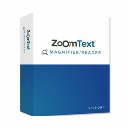 Zoomtext vergroting- en spraaksoftware ST901205