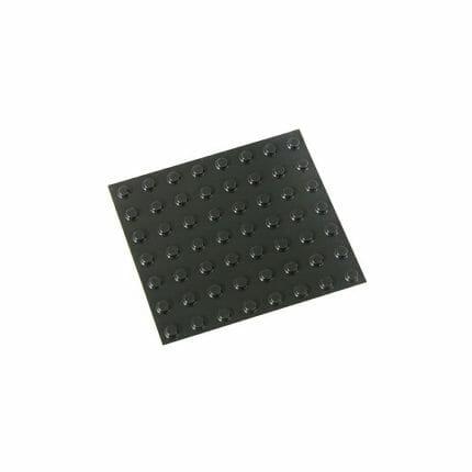 Bumpons medium zwart 100x ST645014