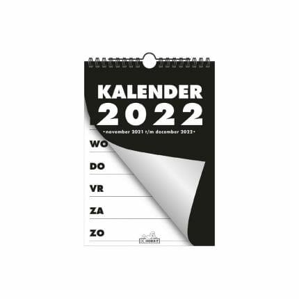Grootletter weekkalender A5 - 2022